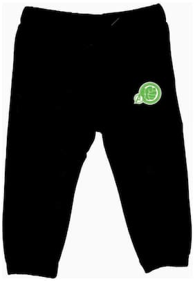 MARVEL AVENGERS Boy Cotton Track pants - Black