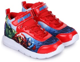 MARVEL Red Boys Sport shoes