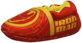 MARVEL Red Booties For Infants