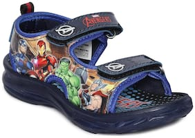 MARVEL Blue Sandals For Infants