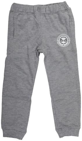 Marvel Spiderman Boy Poly cotton Track pants - Grey