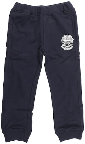 Marvel Spiderman Boy Poly cotton Track pants - Blue