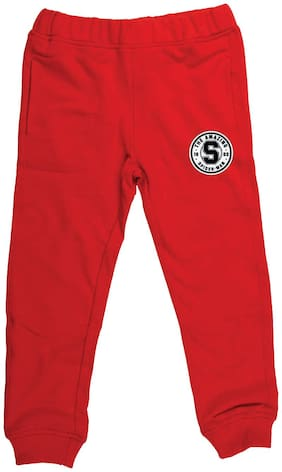 Marvel Spiderman Boy Poly cotton Track pants - Red