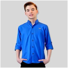 Mashup Boy Cotton blend Solid Shirt Multi