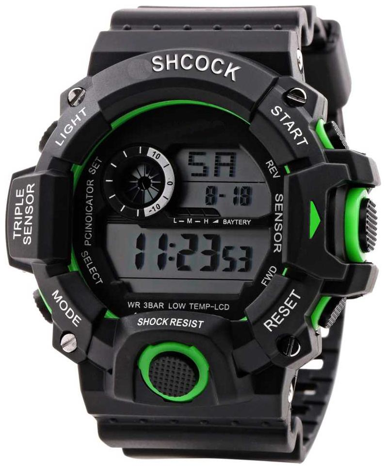 Mastrena Shock Digital Boy's Watches by S G Enterprises