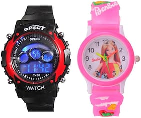 Mastrena Analog Digital Kids 2 of Combo Watch