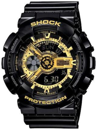 Mastrena Shock Digital & Analog Gold Dial Boy's Watches