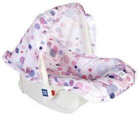 Mee Mee 5 in 1 Baby Cozy Carry Cot Cum Rocker (Pink)