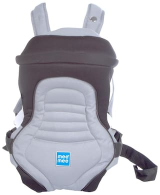 Buy Mee Mee 6 Position Premium Baby Carrier (Black) Online