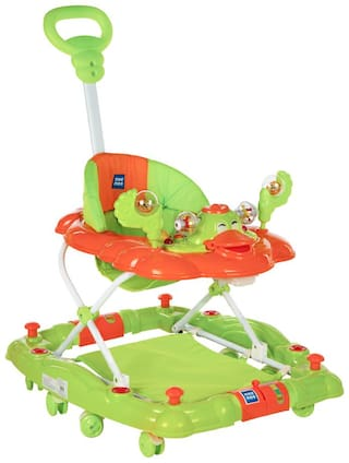Mee Mee Baby Walker with Rocker Function 2-in-1 (Green)