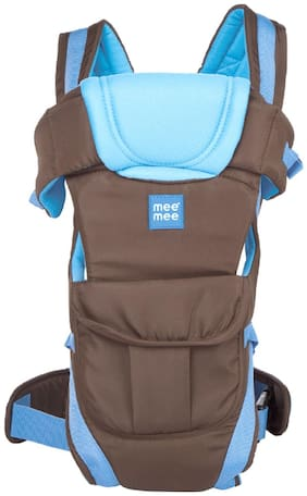 edf2ff73354 Mee Mee Lightweight Breathable Baby Carrier (Blue)
