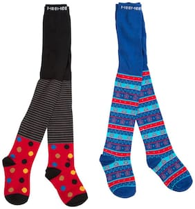 Mee Mee Multicolor Stocking (Set Of 2)