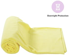 Mee Mee's Total Dry & Breathable Mattress Protector Mat (Yellow)