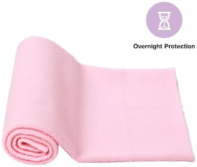 Mee Mee Total Dry & Breathable Mattress Protector Mat (Pink)