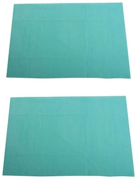 Mee Mee Total Dry & Breathable Mattress Protector Mat (Green) Pack Of 2