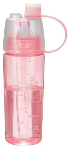 Meenamart Sports Bottle with Mist Spray 600 ml