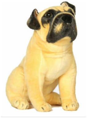 meghanshi soft toy pug dog32cm