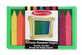 Melissa & Doug Jumbo Florescent Crayons item 4153 FACTORY SEALED