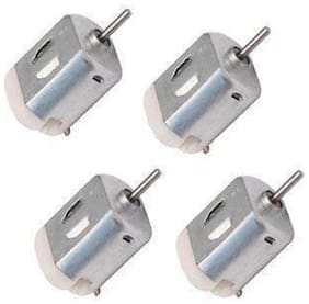 Melody's MEL-25 4 pcs Small Electric DC Motor 6V, High-Speed, for Electronic Project