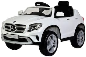 Mercedes Benz GLA Class Licensed Battery Operated Ride on Car for Kids White (Age 2 to 7 yrs)