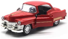 Metal Vintage Car 1:32 Light & Music Pullback (Assorted Color & Design)