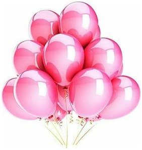 Metallic Pink balloons (pack of 50)