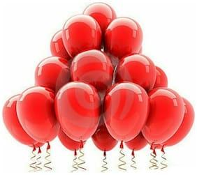 Metallic Red Balloons (pack of 50)