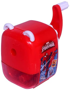 MG WORLD Spider Man Print Table Sharpener for Kids Home/Office Use