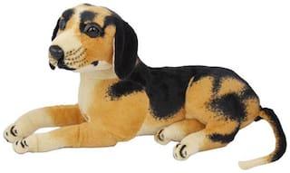 MGP Creation Cute Sitting Dog Stuffed Soft Toy - 20 cm