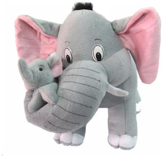 MGP Creation Mother Elephant with Baby (32Cm)