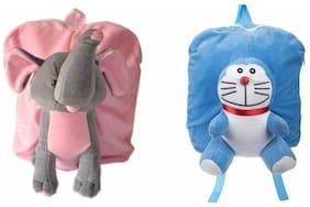 MGP Premium Play School Elephant & Full Blue Man Bag