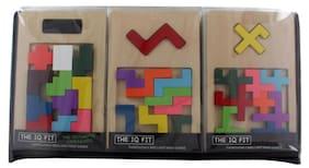Mi Wooden Reunion Puzzle 9 Pieces