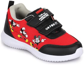 MICKEY Red Boys Sport shoes