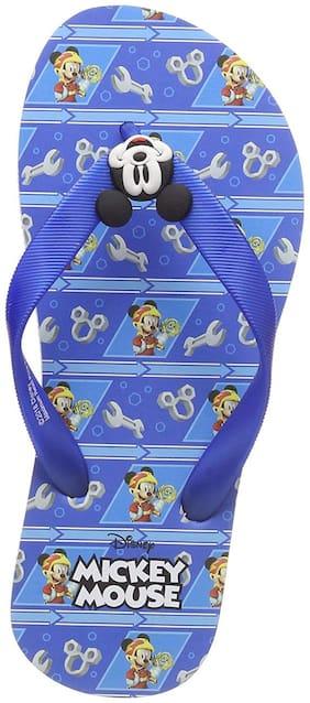Mickey Kids Boys Blue Flip-Flop