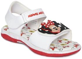 MICKEY MINNIE White Girls Sandals