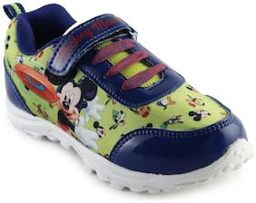 MICKEY MINNIE Green Boys Sport shoes
