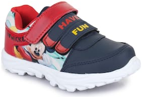 MICKEY Navy Blue Boys Casual shoes