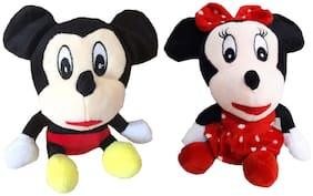 Mickey Mouse Minnie Mouse (Combo) Soft Toy Plush,Teddy Bear Soft Toys for Kids Best for Gift