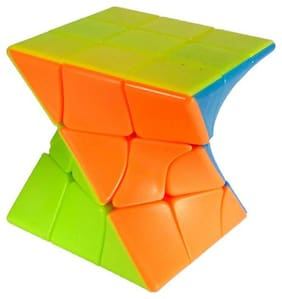 Middle Curve Square Magic Rubik Cube For Kids and All People  (1 pcs) By Signomark.