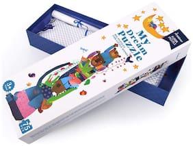 MiDeer 75 Pcs Big My Dream Floor Puzzle Animals Aesthetic Puzzle Games for Kids Birthday Gift - Edu Toys