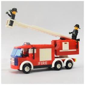 Mighty Raju R Blocks - Fire Truck