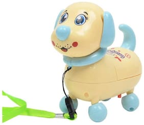 Mini Baby Pup, Musical, Walking, Electronic Robot Dog for Toddles, Boys and Girls - Multicolor