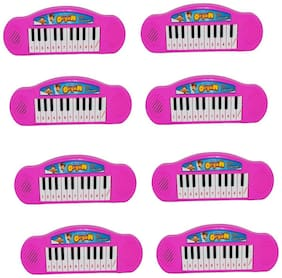 Mini Piano Musical Toy For Kids Pack Of 8