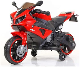 MG WORLD Mini R1 Rechargeable Battery Operated Ride-on Bike and Baby Ride on/Kids Ride on Toys -Kids Bike - Baby Bike for Kids to Drive Toy Scooter Suitable for Boys & Girls Age 1-4 Years