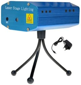 Mini Stage DJ/ Diwali/ Home/ Birthday/ Disco Laser Light Projector