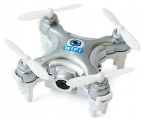 Mini Wifi Drone HD 720p, Flying Quadcopter, Aerial View Camera with Extra Battery Backup. (Controlled by Mobile)
