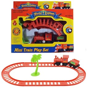 Kidz Mini World Express Train Set