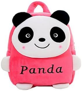 MINITREES Cute Pink Panda Kids School/Nursery/Picnic/Carry/Travelling Bag, 2-5 Years School Bag (Pink, 10L)