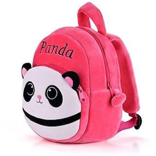 MINITREES Cute Pink BestPanda Kids School/Nursery/Picnic/Carry/Travelling Bag, 2-5 Years School Bag (Pink, 10L)