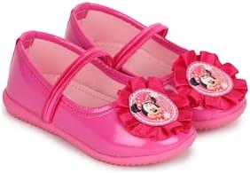 Minnie Pink Ballerinas For Infants